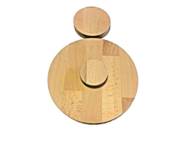 Runde Holzscheibe Rund Holz Buche Leimholz Platte 40mm 80-900mm Tischplatte