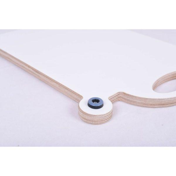 Gleitbrett weiß Gleiter Slider für den Thermomix TM5 TM6 mundor tischplatten