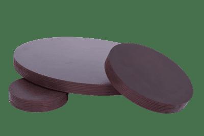 mundor tischplatten Runde Holzscheibe Rund Siebdruckplatte Multiplex Tischplatte VERSIEGELTEM RAND