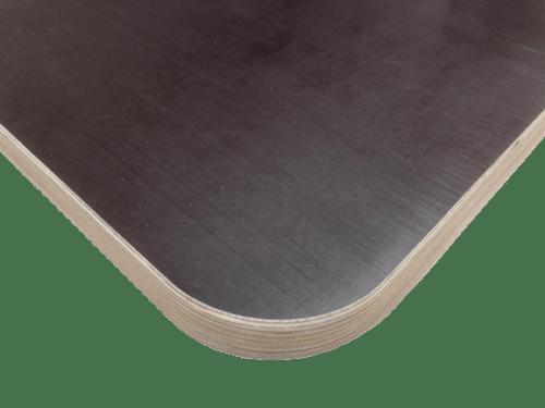 Tischplatte 9-27mm Siebdruckplatte Radius Wetterbeständig gefast