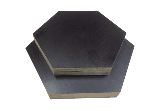 Tischplatte Sechseck 9-27mm Siebdruckplatte Hexagon