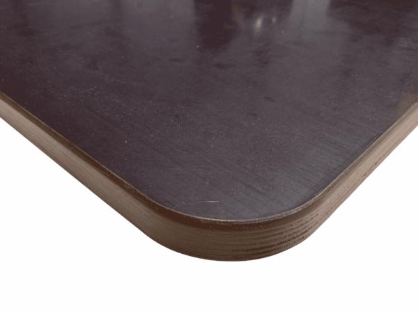 Tischplatte 15-27mm Siebdruckplatte Radius Holzplatte Wetterbeständig Versiegelt
