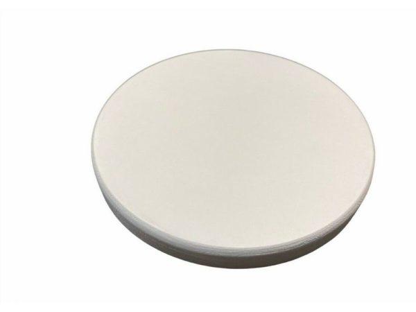 Runde Holzscheibe Rund Kreis WEIß Multiplex Tischplatte versiegeltem Rand